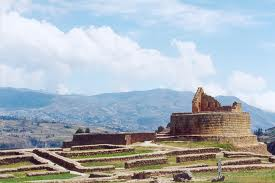 Igapirca Inca en Ecuador Reconstrucción virtual