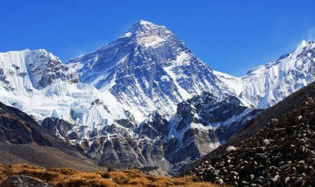 Nombre original del Monte Everest